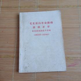 毛主席的革命路线,胜利万岁,党内两条路线斗争史