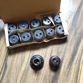 老式圆扁插座