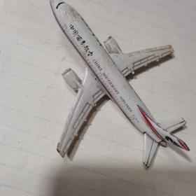中国西南航空   飞机模型【合金的】