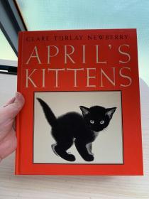 April's Kittens [Hardcover]四月的小猫(凯迪克银奖作品,精装)ISBN9780060244002