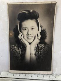 民国时期女明星女影星陈娟娟原版老照片