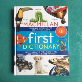 MACMILLAN FIRST DICTIONARY (塑封95品新书)