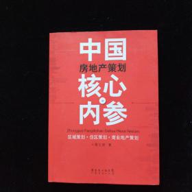 中国房地产策划核心内参 一版一印