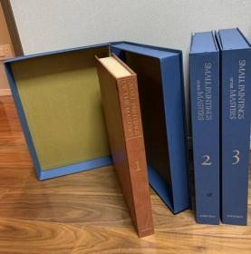 原寸・巨匠名画大成 全3巻 无输送箱,有内函套。