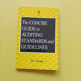 the concise guide to auditing standards and guidelines   审计准则和指南简明指南