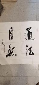 江苏省书法家协会副主席,中国书法家协会理事 仇高驰书法 终身保真