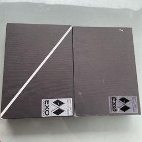 EXO OBSESSION(NO。6正规6辑) 2盒合售(附光碟 海报 书籍)