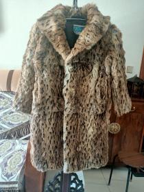 九十年代皮草大衣