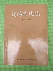 简阳城建志【1911-1985】