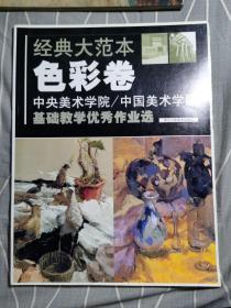 中央美术学院·中国美术学院基础教学优秀作业选:经典大范本(色彩卷)