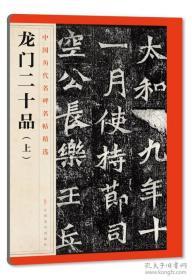 中国历代名碑名帖精选·龙门二十品(上)