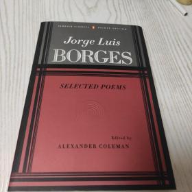 Selected Poems[诗选] 博尔赫斯诗歌集 西语英语对照本