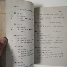 山西省中医验方秘方汇集(第三辑)〈1959年山西初版发行〉