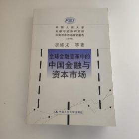 全球金融变革中的中国金融与资本市场(2010)