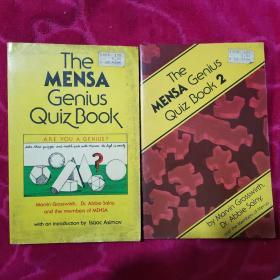 The MENSA Genus Quiz Book( 门萨天才测验书  英文  两册合售)