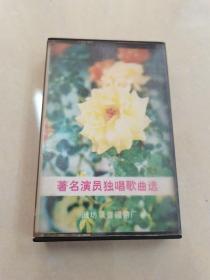 磁带:著名演员独唱歌曲选(王洁实谢莉斯男女声二重唱)