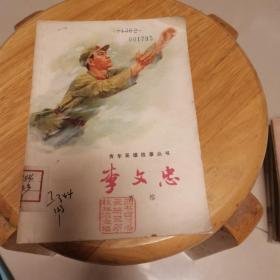 李文忠——青年英雄故事丛书