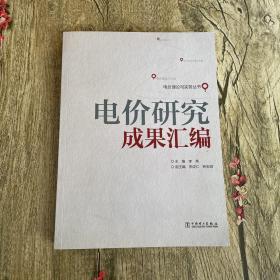 电价理论与实务丛书:电价研究成果汇编