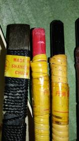 日本丹青堂……篆刻刀(印刀),带刀石,两套5支共两盒