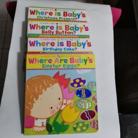 Where Are Baby's Easter Eggs + Birthday Cake + Belly Button + Christmas Present