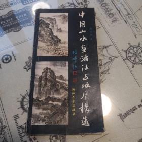 中国山水画皴法与地质构造