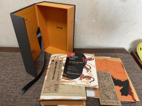 三只忧伤的老虎 特装礼盒。带译者范晔签名。编号44