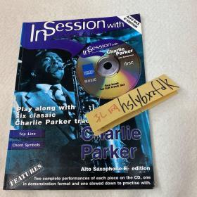 In Session with Charlie Parker ,爵士乐谱并含伴奏cd,52页
