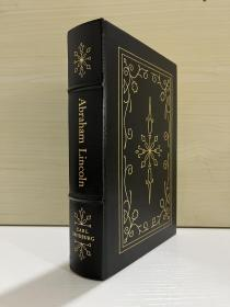 Abraham Lincoln  - The prairie Years and The War Years   One -Volume Edition 真皮精装,Easton 出版,书口三面刷金