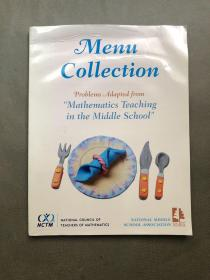 Menu Collection,Problem Adapted From Mathematics Teaching in the Middle School中学数学教学中的问题集