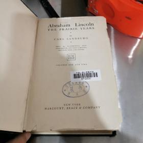 中国人民大学图书馆藏书.林肯传(签名版)