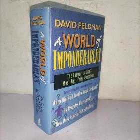 DAVID FEKDMAN A WORLD of IMPONDERABLES 大卫·费克德曼一个无法估量的世界 (实物图)