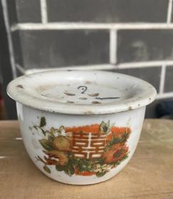 民国景德镇瓷器蛐蛐罐 文人雅士斗蛐蛐用的