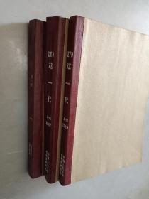这一代  1987-1991年共22期   3本合订本   详见描述