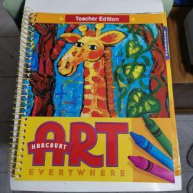 HARCOURT ART Three Books