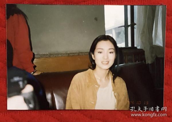 著名女演员 巩俐 1994年原版老照片