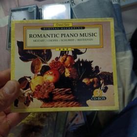CD音乐、ROMANTIC PIANO MUSIC(3CD)