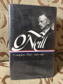 Eugene O'Neill: Complete Plays 1920-1931: Volume 2: 1920-1931 - 尤金 奥尼尔戏剧集卷二 美国文库 精装本 馆藏本