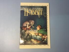 一印首版霍比特人1989版漫画小说第二册THE HOBBIT GRAPHIC NOVELS  DAVID WENZEL ILLUS Tolkien ORIG COVER