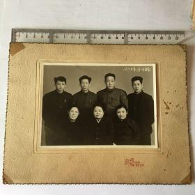 1965年合影照片【11.8厘米x14.8厘米 】 77