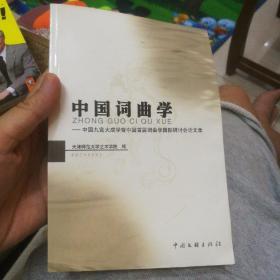 中国词曲学