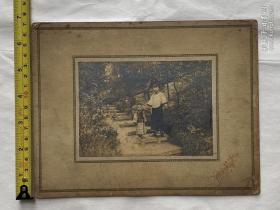民国时期杭州灵隐山照片