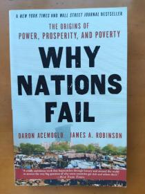 Why Nations Fail: The Origins of Power, Prosperity, and PovertyDaron AcemogluJames A. Robinson