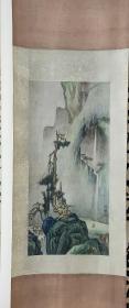 杨杰画仙居图青绿山水...本店里的书画都是收购来的,买前请买者自已或请懂行者看明白,价格可以协商,你情我愿,买后不退,敬请理解,谢您光临小店。