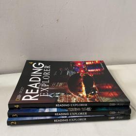 Reading Explorer(2、3、4)三册合售