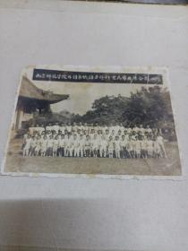 1961年南京师范学院外语系俄语专修科首届毕业生合影