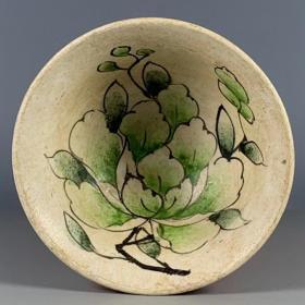 吉州窑花卉盏