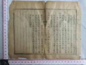 古籍散页《钦定大清会典》18