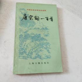 中国古典文学作品选读,唐宋词一百首