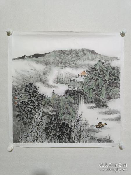 张志民工作室画家 周志鑫作品《秋韵》