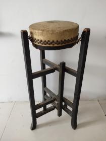 建国初期 天津戏鼓  天津民俗乐器厂  一套(可正常使用)完整  包老